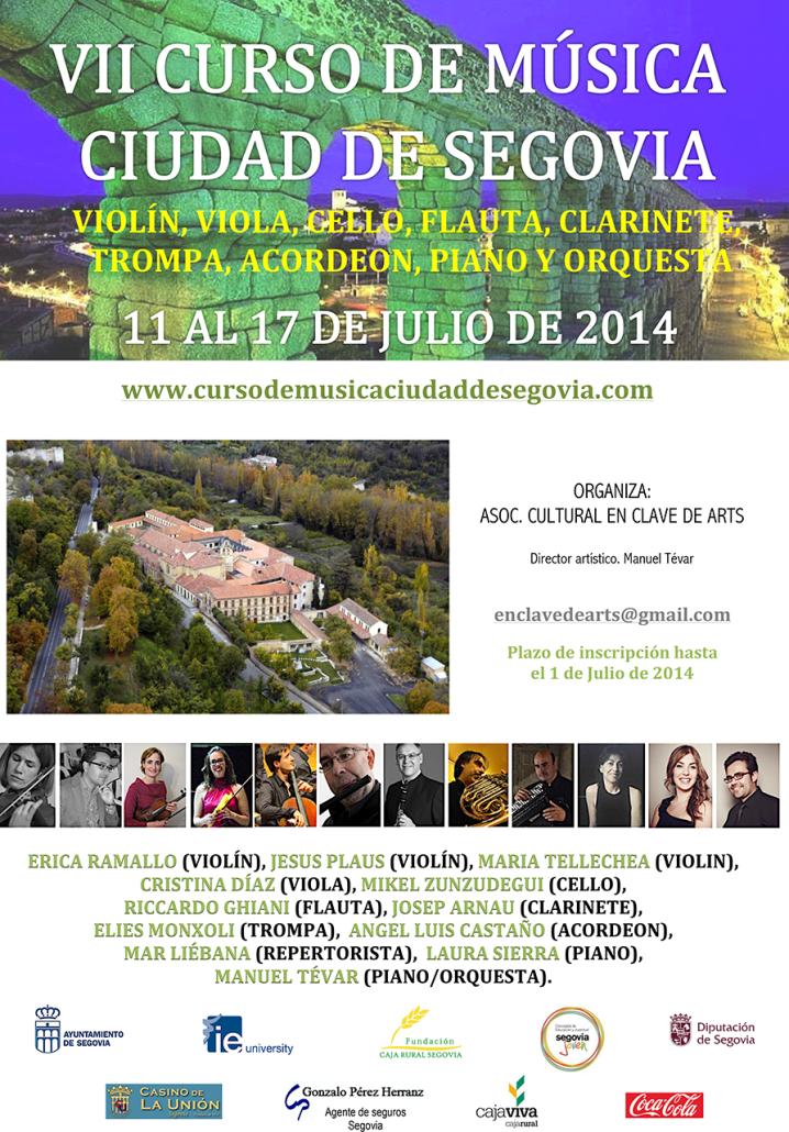 VII CURSO DE MUSICA CARTEL 2014